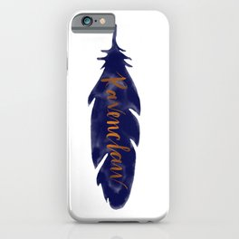 Ravenclaw Feather iPhone Case