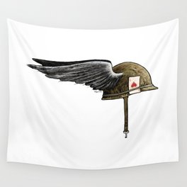 Winged M1 Wall Tapestry