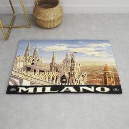 Vintage poster - Milano Rug