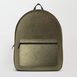 Modern Abstract Gold Leaf Texture Backpack