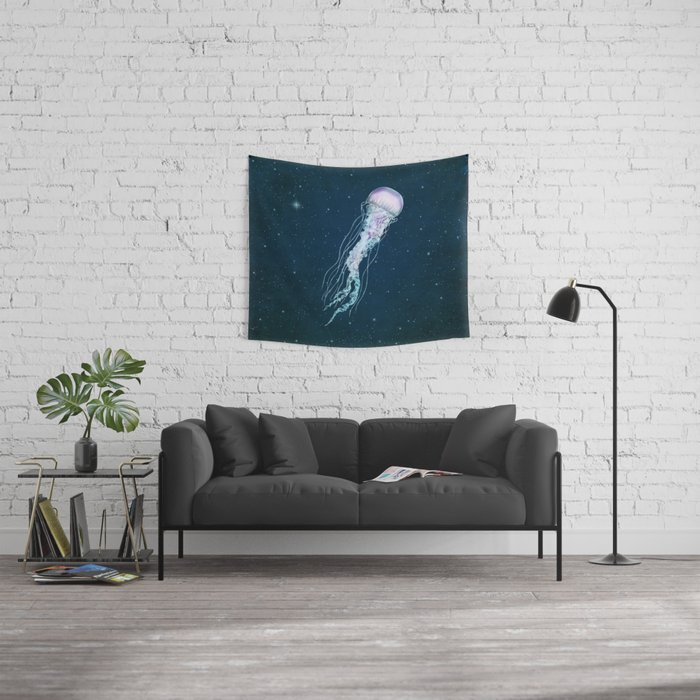 Space Jelly Wall Tapestry
