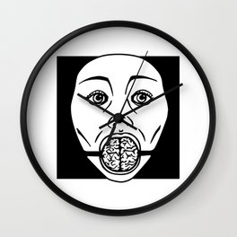 Brain Gag Wall Clock
