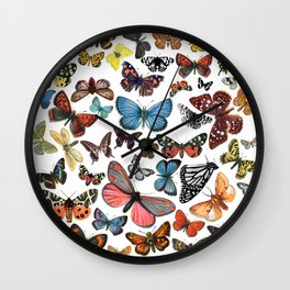 BUTTERFLY CLUSTER Wall Clock