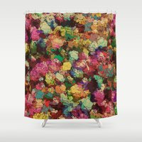 romance Shower Curtains featuring Romance by Glanoramay