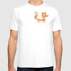 Fox SMALL Mens Fitted Tee White