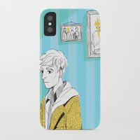 kieren walker iPhone & iPod Cases featuring In The Flesh - Kieren  by Cy-lindric