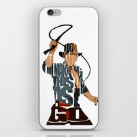 indie iPhone & iPod Skins featuring Indie by Ayse Deniz