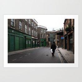 + On park street - London (GBR) Art Print