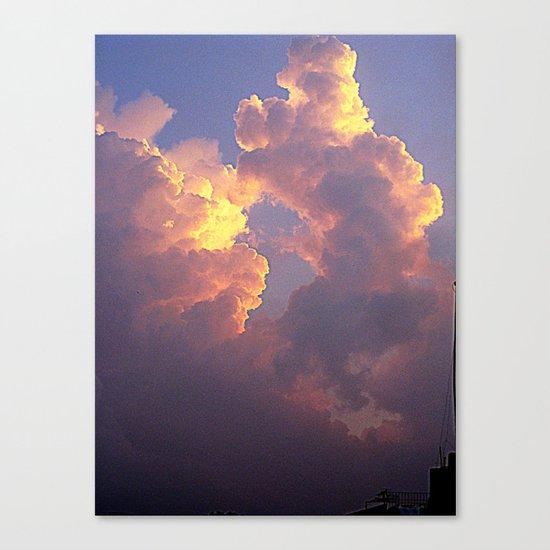 Hanoi sky Canvas Print
