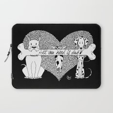 All you need is dog #2 Laptop Sleeve