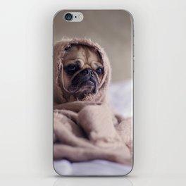 Baby Dog In Blanket iPhone Skin