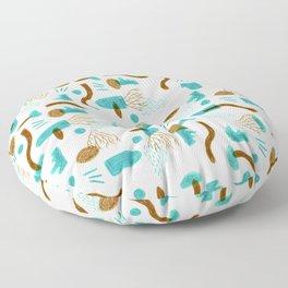 """Pattern """"Ahnungen"""" Floor Pillow"""