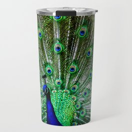 The peacock of Hellabrunn Travel Mug