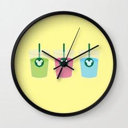 Main Street Sbux Wall Clock