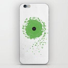 Subtraction iPhone Skin