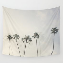 Double Exposure Palms 1 Wall Tapestry