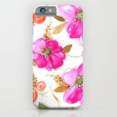 All-Pink Double Spring Floral iPhone 6 Slim Case