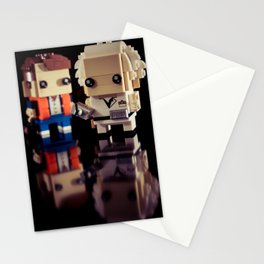 """""""Doc, where the heck is the delorean?!"""" Stationery Cards"""