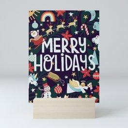 Where's Santa Mini Art Print