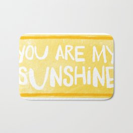My Sunshine Love Bath Mat