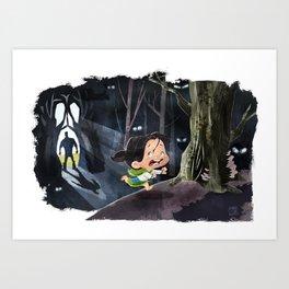 Snow White & The Huntsman Art Print