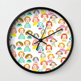 Us Oddballs Wall Clock