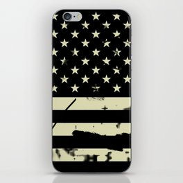 Distressed Tactical U.S. Flag iPhone Skin