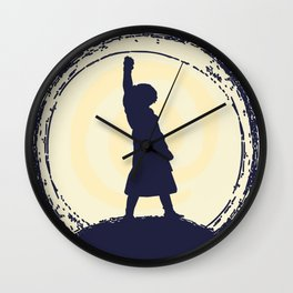 Stone Lady Wall Clock