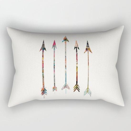 5 Arrows Rectangular Pillow
