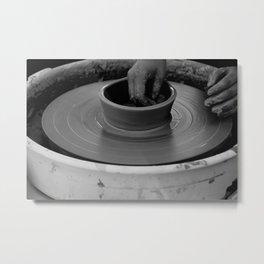 The beauty of handwork Metal Print