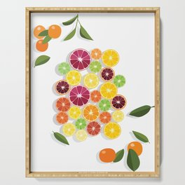 Citrus Assortment Serving Tray