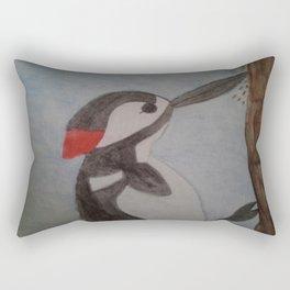 Woodpecker Rectangular Pillow