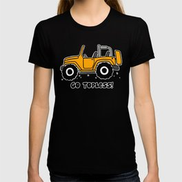 Jeep - Go topless (Orange) T-shirt