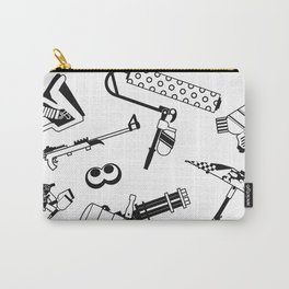Splatoon 2 - Weapons (B&W 1) Carry-All Pouch