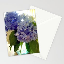Hydrangea Bouquet Stationery Cards