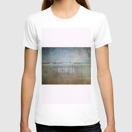 You and me, by the sea T-shirt