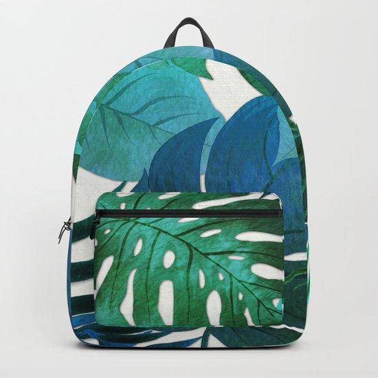 My Tropical Garden 18 Backpack