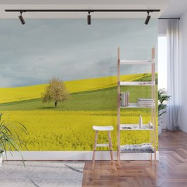 One Tree Hill landscape photograph Wall Mural