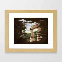 The Min Pins by Roald Dahl Framed Art Print