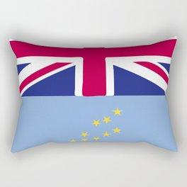 Tuvalu flag emblem Rectangular Pillow