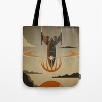 return Tote Bags featuring The Return by Danny Haas