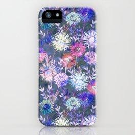 Gillian Floral Gray iPhone Case
