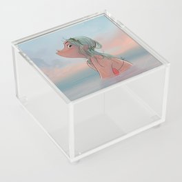 Summer morning Acrylic Box