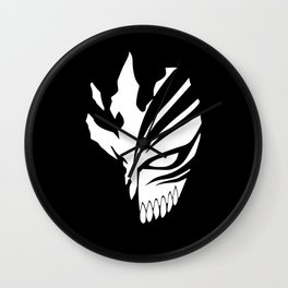 Ichigo Mask Wall Clock