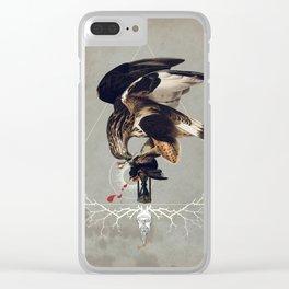 Meme les oiseaux meurent /3 Clear iPhone Case