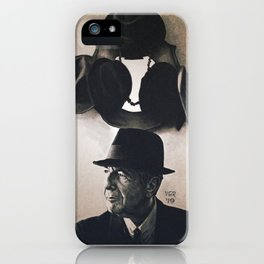 Leonard Cohen hats iPhone Case