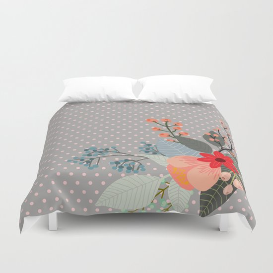 Flowers bouquet #8 Duvet Cover