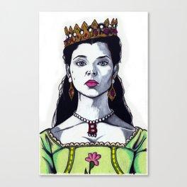 Anne Boleyn - The Tudors TV Character Art Print - Natalie Dormer Canvas Print