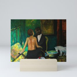 Charles Sews Florian's Wound Mini Art Print
