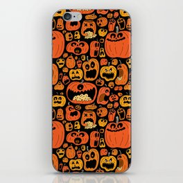 Pumpkin Pattern iPhone Skin